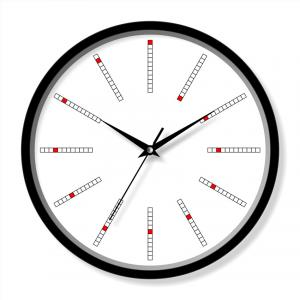 Glass cover clock