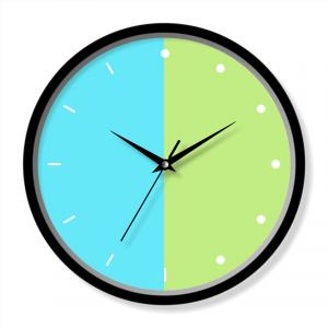 Large wall clock modern design