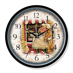 Kitchen quartz wall clock