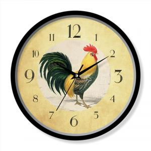 Chicken design wall clock