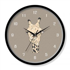 Animal design clock