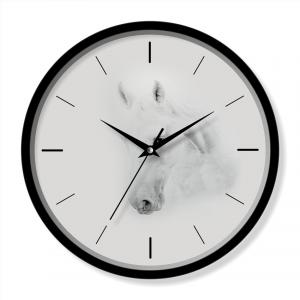 Horse wall clock quartz