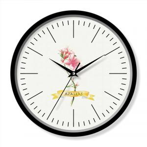 Single flower clock
