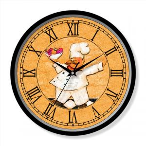 Cartoon wall clock