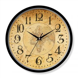 Plastic wall clock Chinese design
