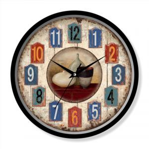 Rustic clock theme