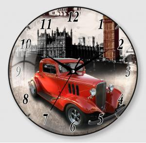 Car Painting Clock