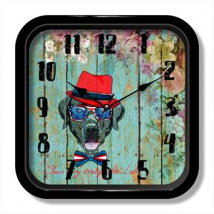Plastic customized vintage quartz wall clock