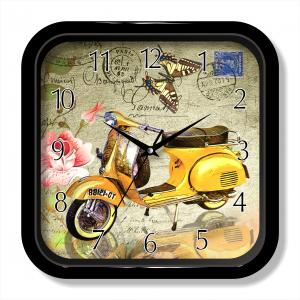Retro quartz decorative wall clock