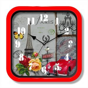 European city wall clock