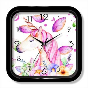 Cute painting quartz clock