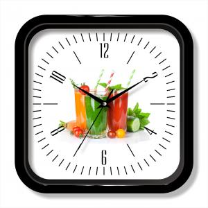 Beverage photo wall clock