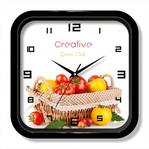 Fruit photo wall clock