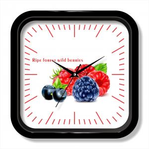 Fruit wall clock fashion design