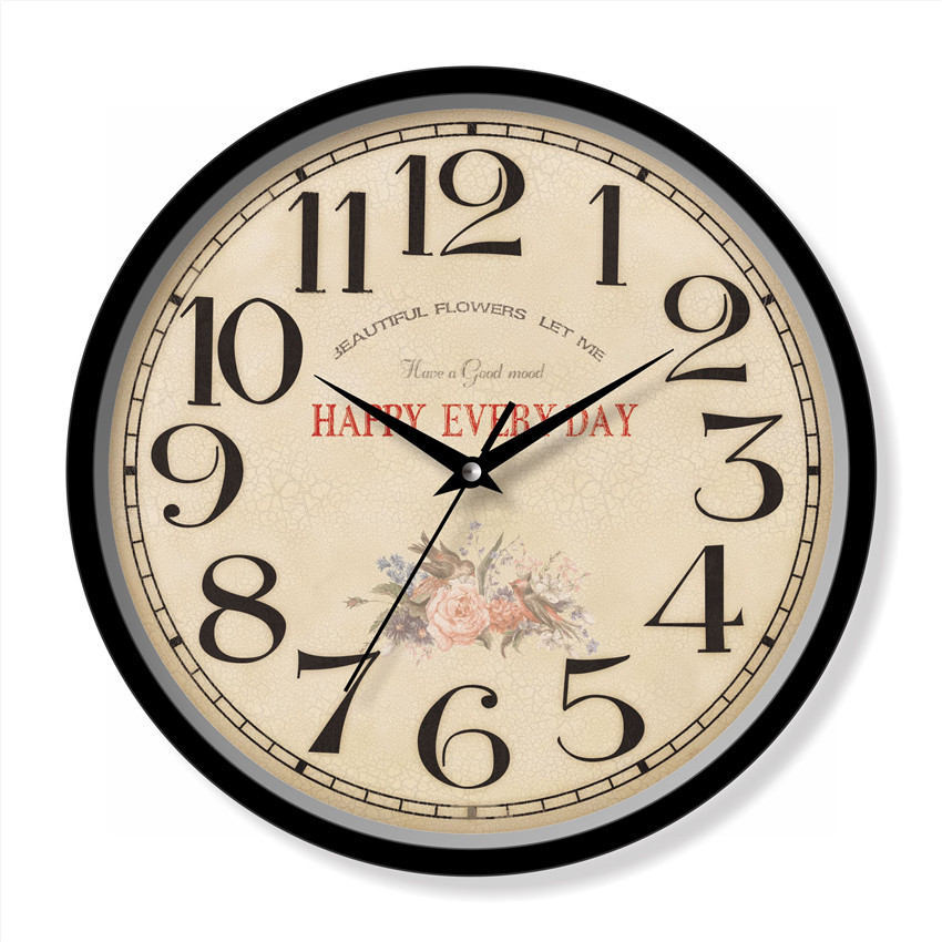 Antique home decorative wall clock