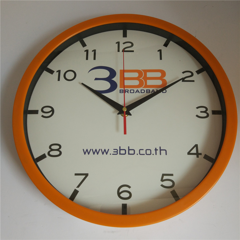 Client design wall clock