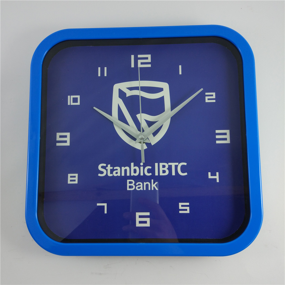Customer Design Square Clocks