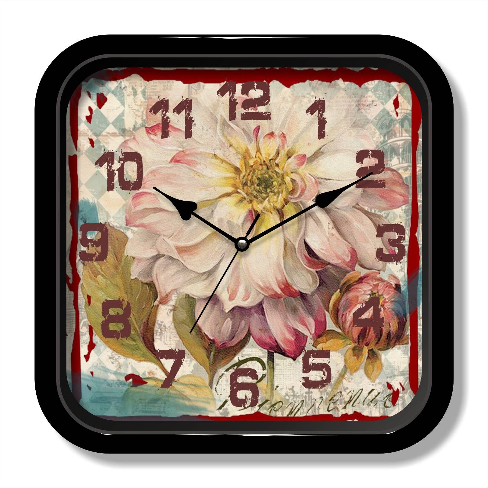 Antique design shabby wall clock